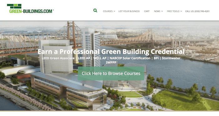 Green-Buildings.com - Eco Friendly Blog Business For Sale-min