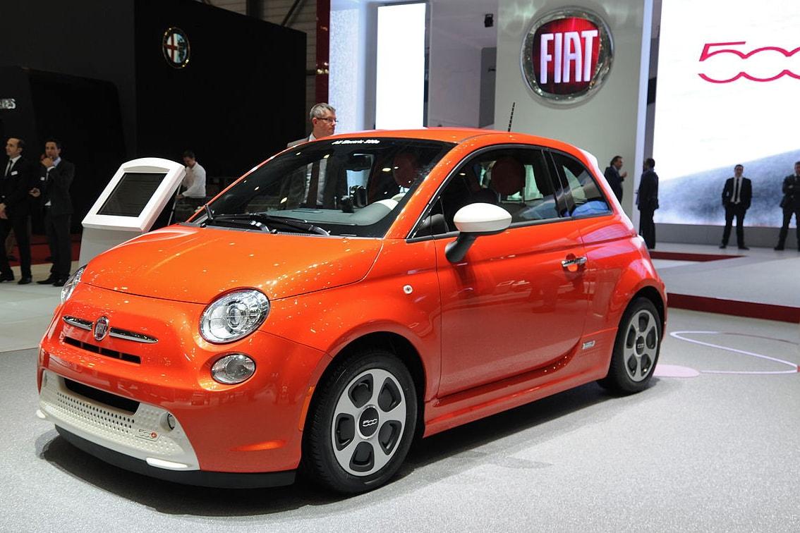 Fiat 500e EV tax credit