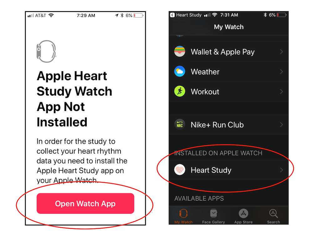 Apple Watch heart study step 3