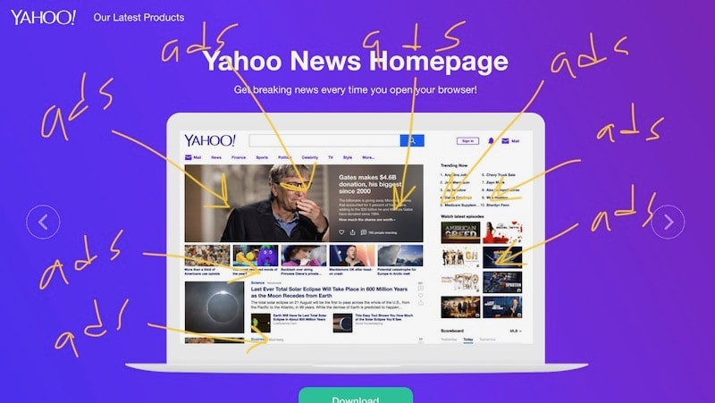 myyahoo is a downgrade not an upgrade