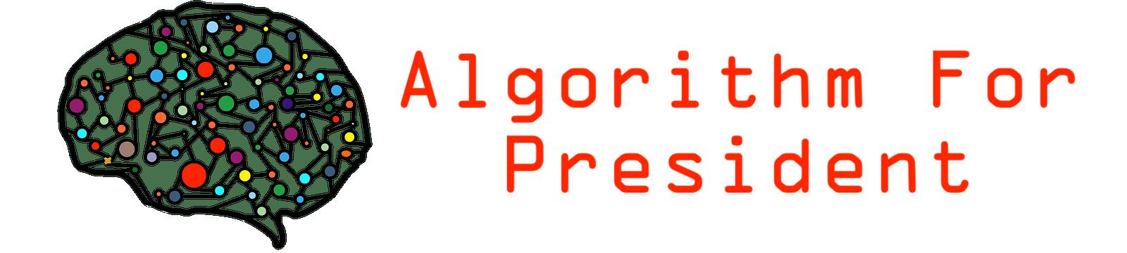 Algorithm for President 2020